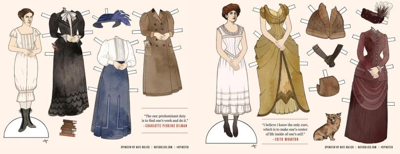 Spinster Paper Dolls