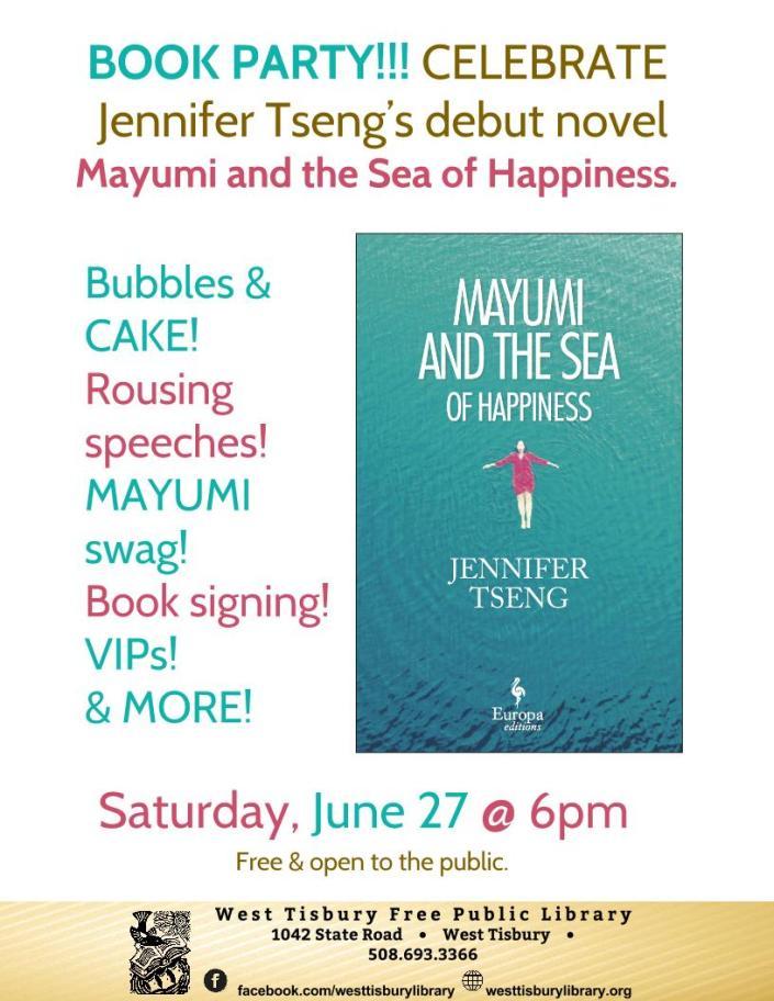 Mayumi library flier