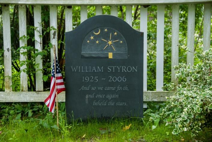 William Styron Grave
